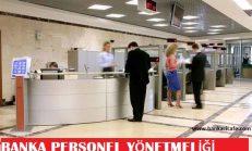 Banka Personel Yönetmeliği
