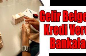 Çalışmayana Kredi Veren Banklar
