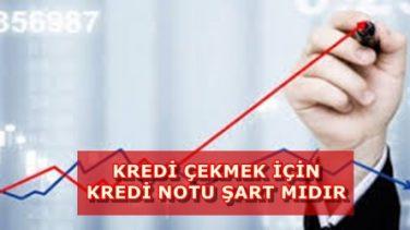 Kredi Çekmek İçin Kredi Notu Şart Mı?