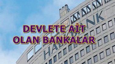 Devlete Ait Olan Bankalar Hangileridir?