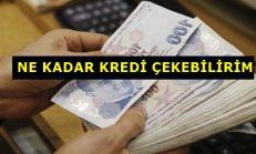 Maaşa Göre Çekilebilecek Kredi Miktarı